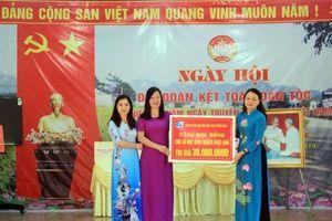 Chủ tịch Hội LHPN Việt Nam tham dự Ngày hội Đại đoàn kết toàn dân tộc ở Thái Nguyên