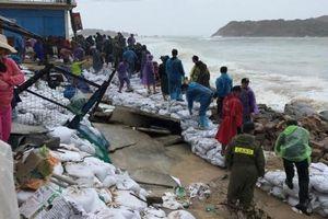 Thiệt hại do bão số 6 gây ra không lớn