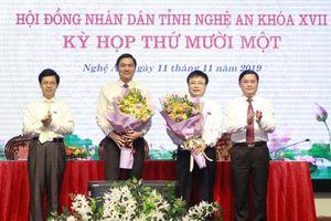 Nghệ An: Bầu bổ sung 2 Phó chủ tịch UBND tỉnh
