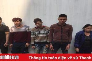 Triệt phá ổ nhóm trộm chó tại thị trấn Thọ Xuân