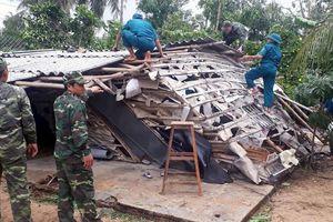Bão số 6: 2 người chết, hơn 300 ngôi nhà bị ngập nước
