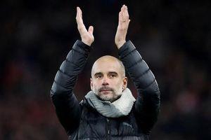 Man City bại trận cay đắng, HLV Pep Guardiola cảm ơn trọng tài