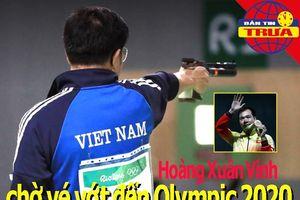 Hoàng Xuân Vinh chờ 'vé vớt' đến Olympic 2020; Nadal nổi điên