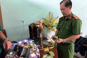 Cảnh sát phát hiện hàng ngàn hộp shisa 'lậu' ở Đà Nẵng