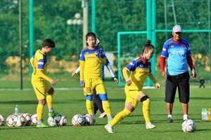 Tuyển nữ quốc gia tập huấn tại Nhật Bản
