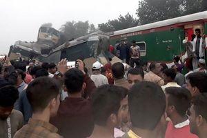 Bangladesh: Hai tàu hỏa đâm trực diện, ít nhất 16 người chết