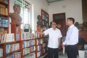 Thư viện đặc biệt giữa cù lao sông Đồng Nai