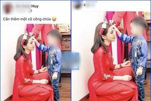 Chồng Lưu Đê Ly vô tình khiến dân mạng bóc phốt vợ chỉnh sửa ảnh quá đà