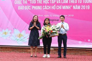 Học sinh Ninh Bình đạt giải cao tại cuộc thi học tập đạo đức, phong cách Hồ Chí Minh