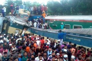 Bangladesh: Hai đoàn tàu hỏa đâm nhau, số người thiệt mạng tiếp tục tăng