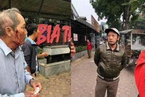 Cụ ông bị gã xe ôm đánh đa chấn thương ở Hà Nội