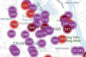 Không khí tại Hà Nội đạt mức nguy hại cao nhất, cần ban bố tình trạng khẩn cấp