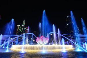 TP.HCM biểu diễn nhạc nước mỗi đêm ở phố đi bộ Nguyễn Huệ