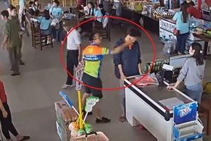 Thượng úy công an tát người bán hàng: Không để dây dưa, xử lý nội bộ