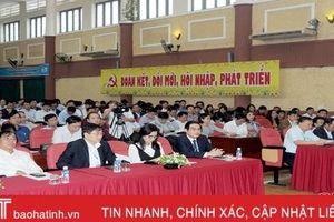 182 thí sinh Hà Tĩnh thi nâng ngạch công chức, thăng hạng viên chức
