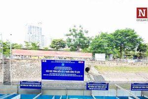 Xử lý làm sạch sông Tô Lịch: Công ty JVE không tuân thủ yêu cầu của Thành phố