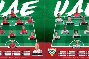 Đội tuyển UAE- Chơi tiền đạo ảo, tra tấn thế lực đối phương