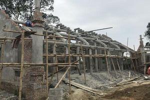 Chùa 'khủng' ồ ạt 'xây chui' trong vùng bảo vệ của Di tích quốc gia
