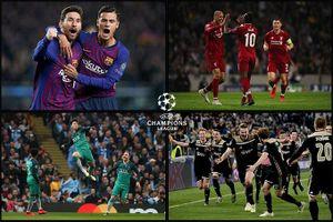 Lịch thi đấu CUP C1 châu Âu Champions League 2019 vòng 5
