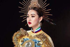 Tường San thắng giải trang phục dân tộc đẹp nhất Hoa hậu Quốc tế 2019