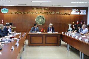 Đoàn đại biểu cấp cao CHLB Đức thăm Trường Cao đẳng Công nghệ Quốc tế LILAMA 2