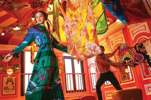 Jun Vũ mơ màng với thần thái 'nàng thơ' trên cuộc hành trình tơ lụa của Đẹp
