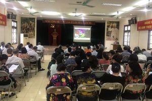 Quận Thanh Xuân đẩy nhanh kiện toàn tổ dân phố trên toàn địa bàn