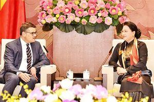 Chủ tịch Quốc hội Nguyễn Thị Kim Ngân tiếp Chủ tịch Nghị viện bang Hét-xen, CHLB Đức