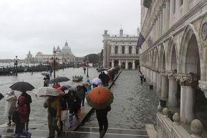 Venice ban bố thảm họa vì ngập lụt