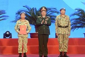 Bệnh viện dã chiến cấp 2 số 2 xuất quân làm nhiệm vụ quốc tế
