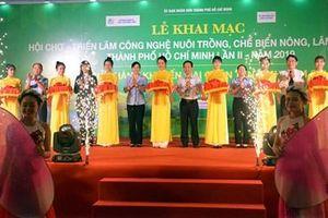 Hơn 250 gian hàng tham gia Hội chợ - Triển lãm nông, lâm, thủy sản TP Hồ Chí Minh lần II năm 2019