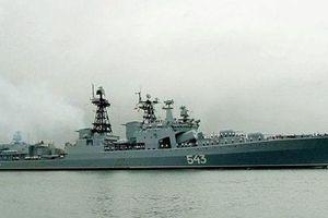 Nga tích hợp tên lửa siêu thanh Zircon lên khu trục hạm hạng nặng