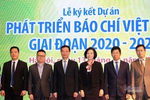 Triển khai dự án 'Phát triển báo chí Việt Nam giai đoạn 2020 - 2024'