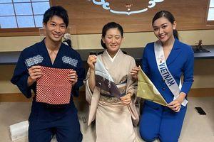 Nguyễn Tường San chừng chân ở Top 8 tại 'Miss International'