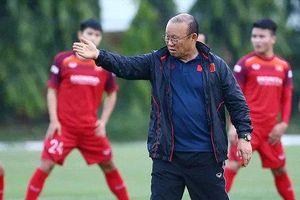 HLV Park chốt danh sách 23 tuyển thủ Việt Nam tham dự trận đấu UAE