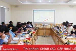 Sớm thống nhất cơ chế giải ngân vốn dự án AFD tài trợ cho 2 huyện của Hà Tĩnh