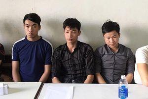 Đà Nẵng: Bắt nhóm côn đồ chém người vì bạn gái bị sàm sỡ khi đi vệ sinh