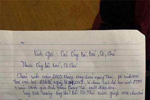 Nữ sinh 2k ở Nam Định bỏ con 10 ngày tuổi kèm lời nhắn 'cháu còn là học sinh, không thể nuôi được con'