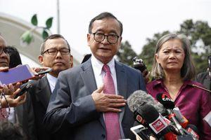 Thủ lĩnh đối lập Campuchia 'không được lên máy bay đến Indonesia'