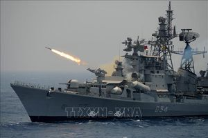 Ấn Độ - Mỹ lần đầu tiên tập trận 3 lực lượng chung