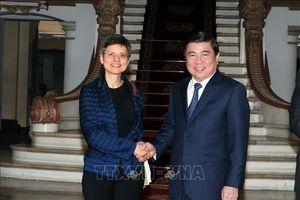 Tăng cường hợp tác giữa TP Hồ Chí Minh và tỉnh Antwerp, Vương quốc Bỉ