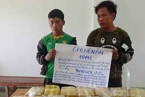 Bắt giữ 2 đối tượng vận chuyển 100.000 viên ma túy từ vùng tam giác vàng vào Việt Nam