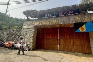 Phá chuỗi nhà sàn, phim trường nghi liên quan người Trung Quốc ở Lạng Sơn