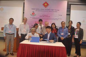 Công bố thành lập Viện nghiên cứu ứng dụng mỹ thuật sản phẩm làng nghề Việt Nam