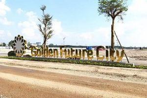 Dự án Golden Future City xây không phép, chủ đầu tư Trung Quân bị phạt 40 triệu đồng