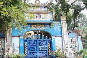 Đề nghị kiểm điểm cá nhân vi phạm xây dựng trên đền Đá Thiên, Thái Nguyên