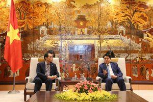 Tân Đại sứ Hàn Quốc đề xuất nhiều hợp tác với Hà Nội