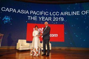 CAPA vinh danh Vietjet với giải thưởng 'hãng hàng không chi phí thấp tại Châu Á Thái Bình Dương 2019'