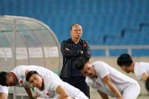 HLV Park Hang-seo: Trận gặp UAE đã trong dự liệu