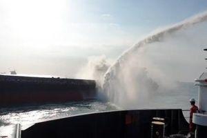 Khống chế thành công vụ cháy trên tàu Yong Shun